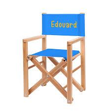fauteuil realisateur fauteuil réalisateur bleu azur ma chaise