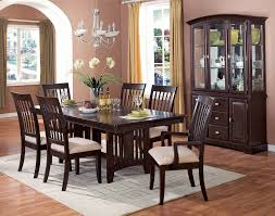 clever buffet hutch furniture in large brown wood room for bronze