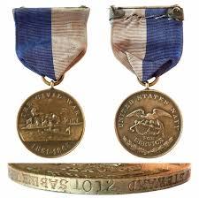 u s navy civil war caign medal 1012 edward p