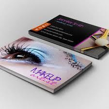 makeup business cards free