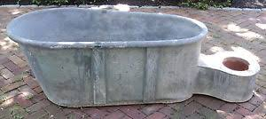 Antique Galvanized Bathtub Metal Bathtub Ebay