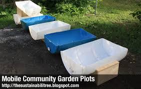 the sustainabilitree mobile community garden plots