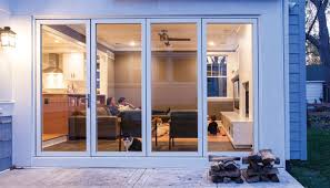 Glass Patio Door Fold Away Glass Patio Doors Doors Ideas