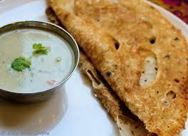 cuisine crepe rava dosa plain flour semolina rice flour indian instant crepe