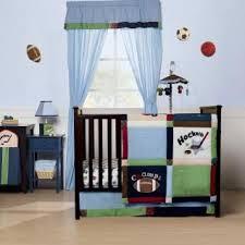 Baby Boy Sports Crib Bedding Sets Hockey Baby Nursery Hockey And Basketball Baby Boys Nursery Crib