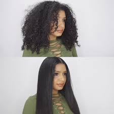 do you have to leave alot of hair out for versatile sew in how to go from curly to frizz free straight hair tutorial