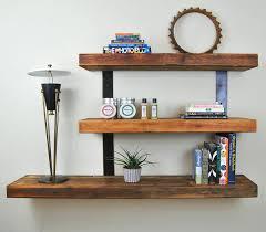 floating shelf brackets decorations furniture decor trend