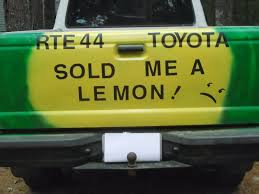 lexus recall melting dashboard route 44 toyota sold me a lemon october 2013