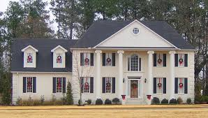colonial style home plans colonial style house plans hodelle colonial two home plan