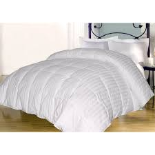 Home Design Down Alternative Comforter 350 Damask Stripe Down Alternative Comforter Walmart Com