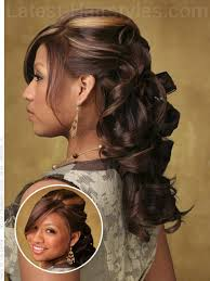 Half Up Half Down Hairstyles Black Hair Half Up Half Down Prom Hairstyles Pictures And How To U0027s