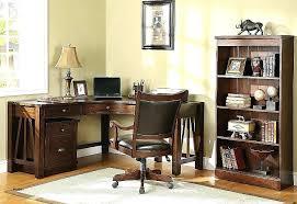 Oak Corner Office Desk Oak Corner Desks For Home Mission Writing Desk Mission Style