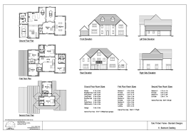 5 or 6 bedroom self build timber frame house design solo timber