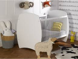 plan chambre bébé mini chambre bébé médéa blanche 70x140 avec plan à langer