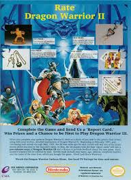 ads from the past 212 dragon warrior 2 contest nes