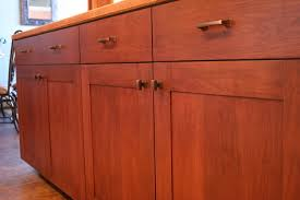 mission style kitchen cabinets mission style cherry kitchen cabinets with solid field by