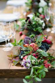 wedding flowers for tables 13 fabulous floral table runners for weddings mon cheri bridals