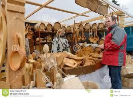 kaziuko fair on mar 8 2014 in vilnius editorial image image