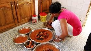 cuisine senegalaise mon cours de cuisine au sénégal