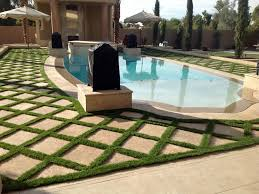 Backyard Landscaping Cost Estimate Artificial Turf Cost Greenfield Indiana Rooftop Backyard