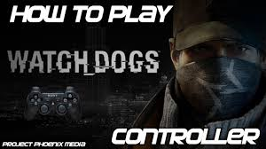 how to play watch dogs pc with pc or ps2 usb controller