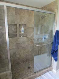 hall bath shower surround with bench seat and sliding shower door hall bath shower surround with bench seat and sliding shower door unit
