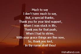 much to say poem for god