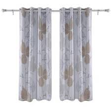 Amazon Thermal Drapes Velvet Moroccan Print Grommet Top Curtain Pair 84