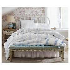 Shabby Chic Sheets Target white bohemian embroidered duvet cover set full queen 3 pc