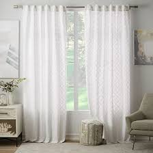 Cotton Curtains And Drapes Linen Cotton Curtain Stone White Living Rooms Bedrooms And