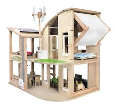 Free Dollhouse Floor Plans by Amazon Com Plan Toys The Green Dollhouse With Furniture Plan