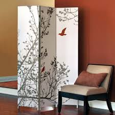 pretty freestanding room dividers inspiration features plant print