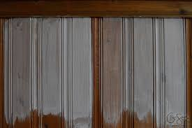 Updating Wood Paneling Painting Vs Whitewashing Panelling And Brick Madness U0026 Method