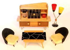 Modern Doll House Furniture by 68 Best Mini Mods Mid Century Modern Doll Houses Images On