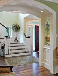 Staircase Ideas Near Entrance Decorate Your Walls With Molding Raised Panel Staircases And