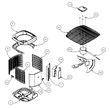 air conditioner diagram of parts hephh com coolers devices