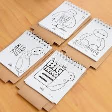Small Desk Calendars Mini Table Calendar 2016 Cat Baymax Desk Calendars Agenda