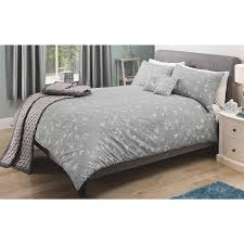 bedding set grey flower bedding charcoal bedspread