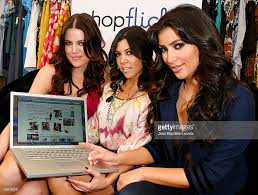 kardashian sisters try on shopflick com treads photos and images