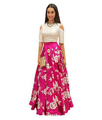 gown dress with price women s partywear embroidered western gown dress pink buy