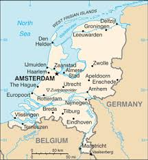 netherlands location in europe map the world factbook central intelligence agency