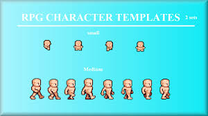 rpg character template by 2toes gamemaker marketplace