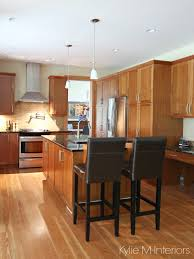 best color to paint kitchen with cherry cabinets kitchen design nanaimo fir floors and custom cherry cabinets