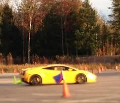 Lamborghini Gallardo Asphalt 8 - for my birthday my sons gave me several laps in a lamborghini