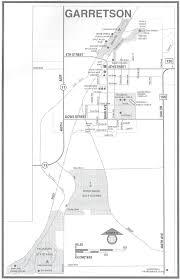 Sd Map Garretson Sd City Map