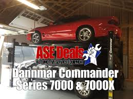 dannmar 4 post lifts commander 7000 and 7000x asedeals youtube