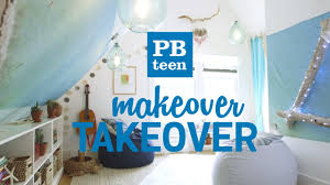 Pbteen Design Your Room by Pbteen Makeover Takeover Beanbag Lounge Youtube