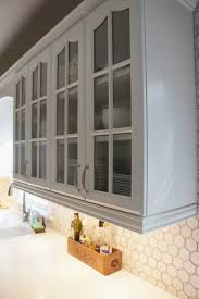 backsplashes for white kitchens remodelaholic gray and white kitchen makeover with hexagon tile