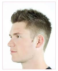 Mens Hairstyles Spiked by Best Hairstyles Or Short Spiky Hair With Shape Up And Mid Bald