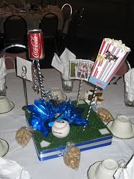 baseball centerpieces baseball centerpiece kits a bnc and more inc